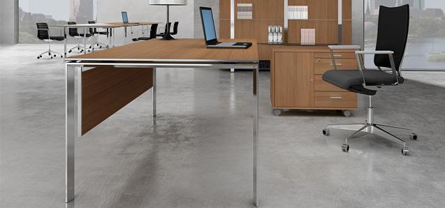 Een bureau vormt de basis van uw werkplek.