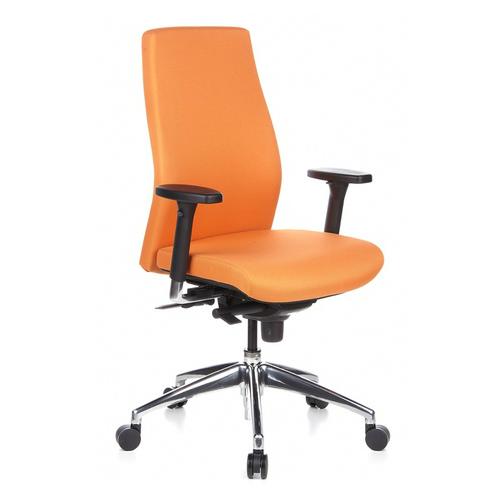 Oranje bureaustoel