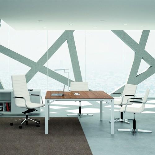Witte kantoorstoelen